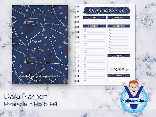 Boho Celestial Daily Planner
