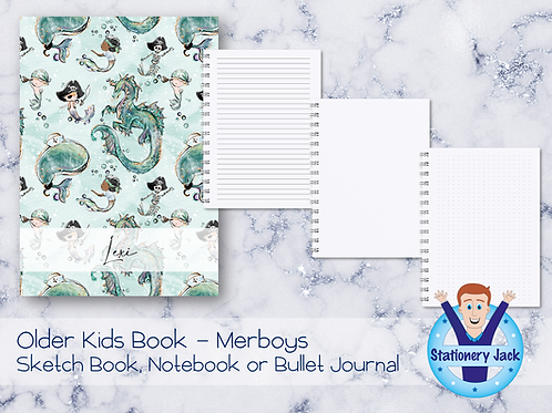 Older Kids Book - Merboys