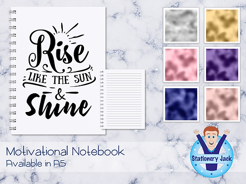 Rise Like The Sun Notebook