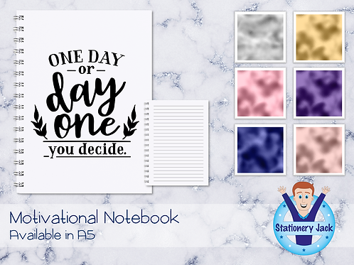 One Day or Day One Notebook