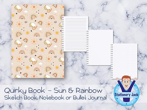 Quirky Book - Sun & Rainbow