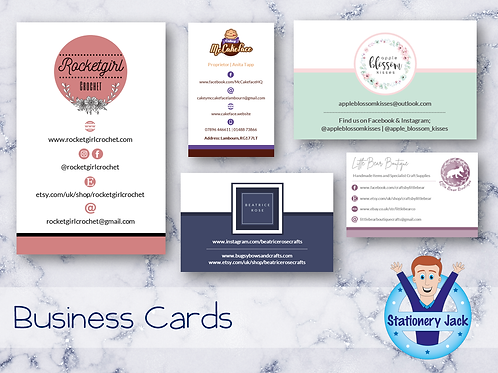 Business Cards 400gsm