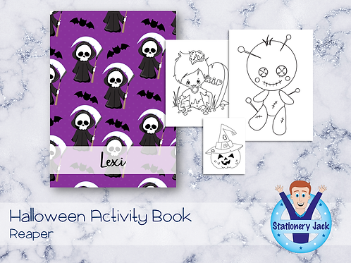 Reaper Activity Book