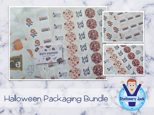 Halloween Packaging Bundle