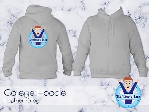 College Hoodie - Heather Grey