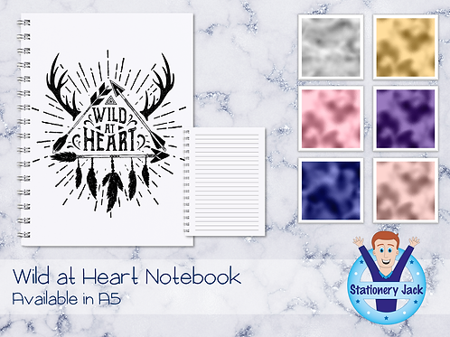 Wild at Heart Notebook