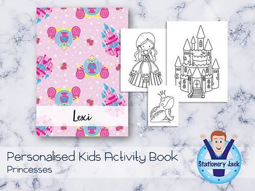 Princesses Activity Book