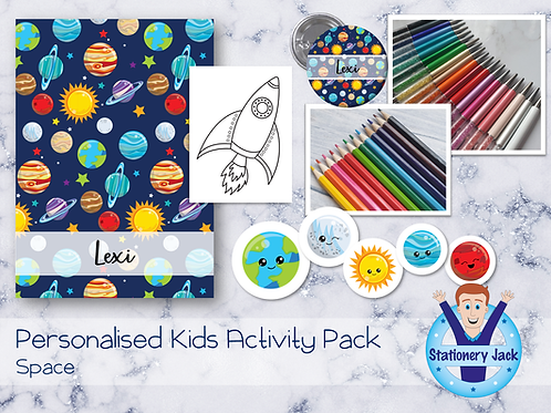 Space Kids Activity Pack