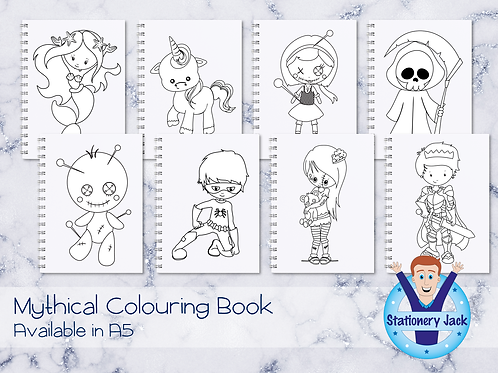 Mythical Colouring Book