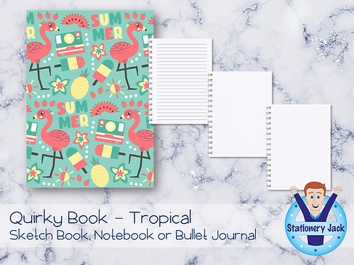 Quirky Book - Tropical