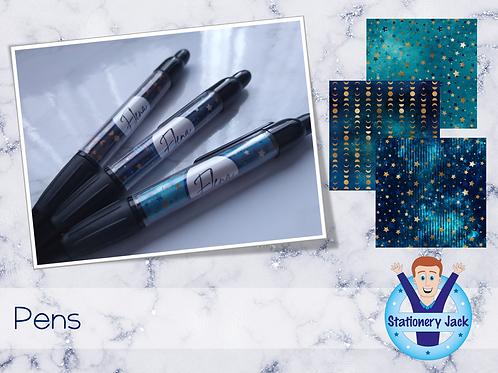 Ocean Galaxy Pen