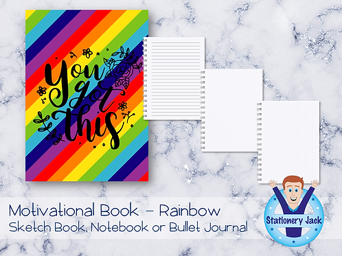Motivational Book - Rainbow