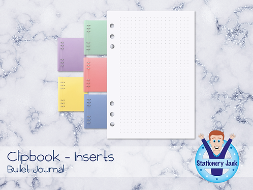 A5 Inserts - Bullet Journal