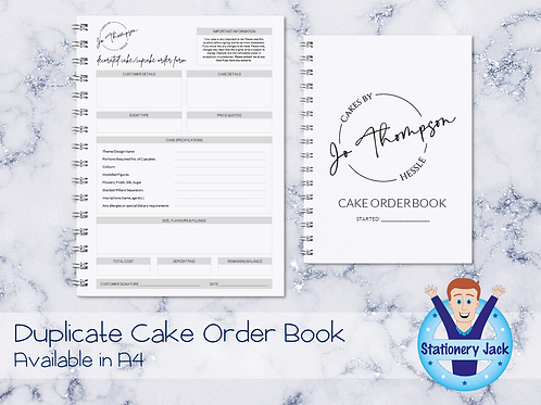 Duplicate Cake Order Book