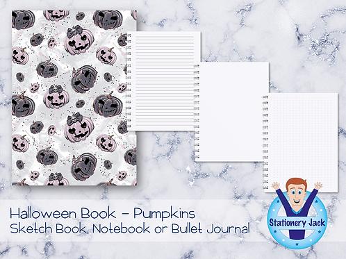 Halloween Book - Pumpkins