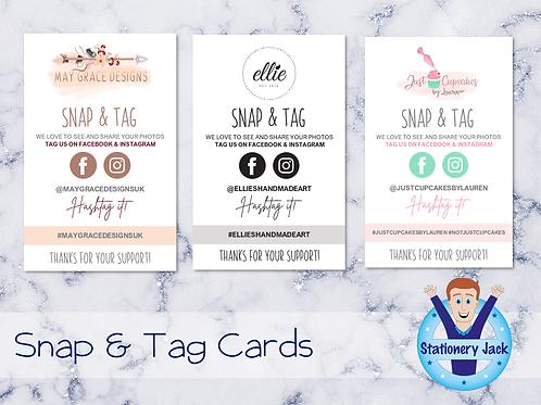 Snap & Tag Cards
