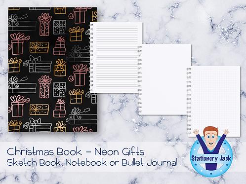 Christmas Book - Neon Gifts