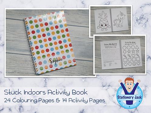 Stuck Indoors Kids Book