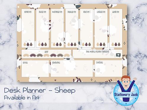 Sheeps Desk Planner
