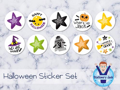 Funky Halloween Sticker Set