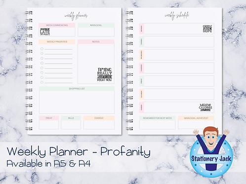 Profanity Personal Planner