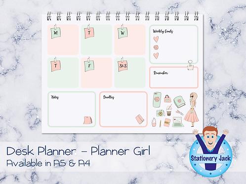 Planner Girl Desk Planner