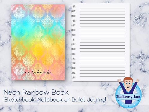 Neon Rainbow Book