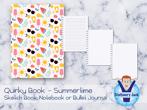 Quirky Book - Summertime