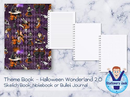 Vintage Halloween Wonderland Book 2.0