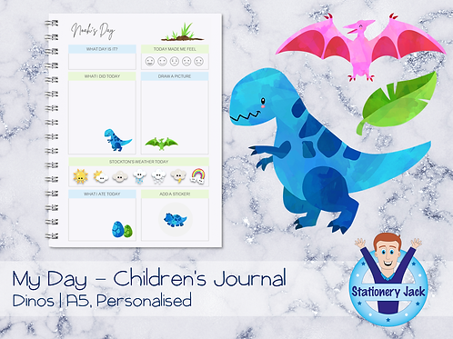 Dino Kids Journal