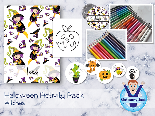 Witches Kids Activity Pack