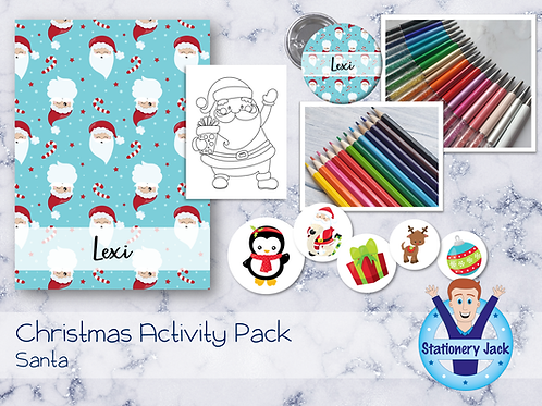 Santa Kids Activity Pack