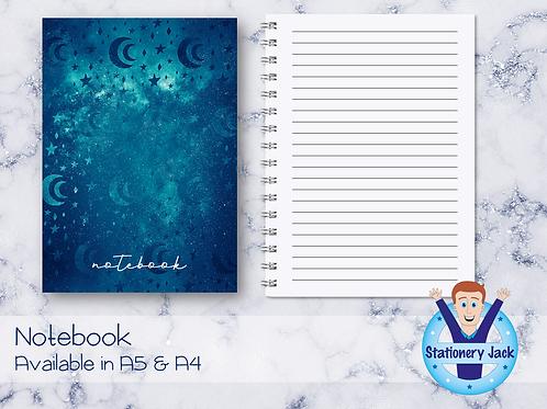 Ocean Galaxy Notebook