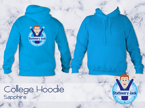 College Hoodie - Sapphire