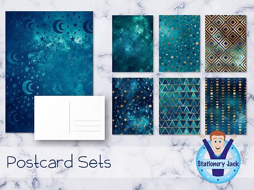 Ocean Galaxy Postcards