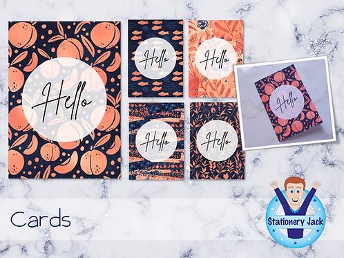 Indigo Peach Cards