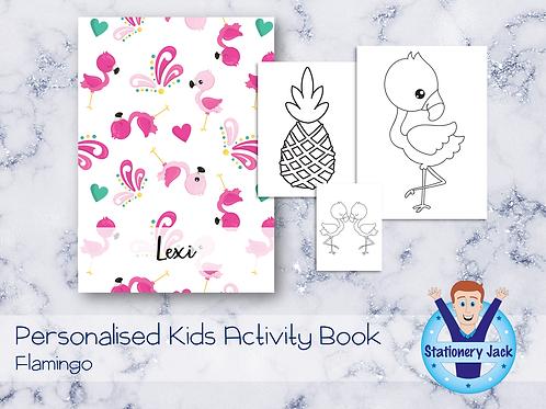 Flamingo Activity Book