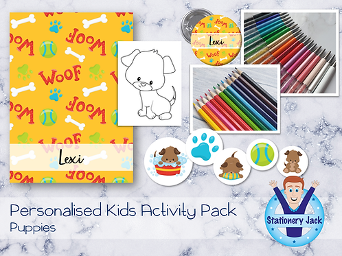 Dogs Kids Activity Pack