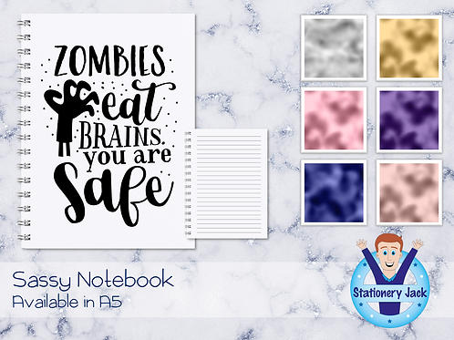 Zombies Eat Brains Notebook