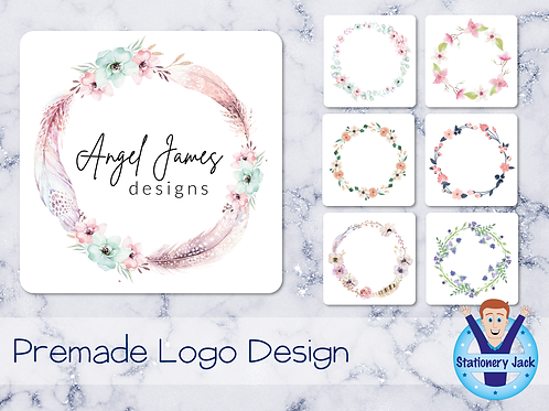 Premade Logo - Wreath