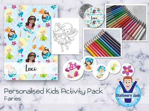Fairies Kids Activity Pack