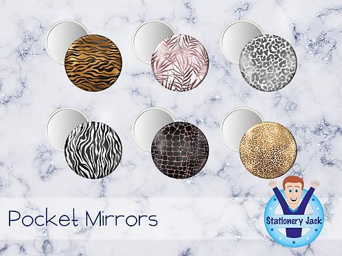 Luxury Safari Pocket Mirror