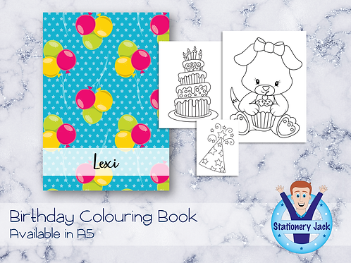 Birthday Colouring Book
