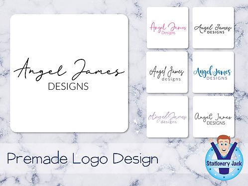 Premade Logo - Simple Text