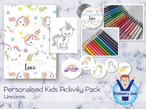 Unicorn Kids Activity Pack