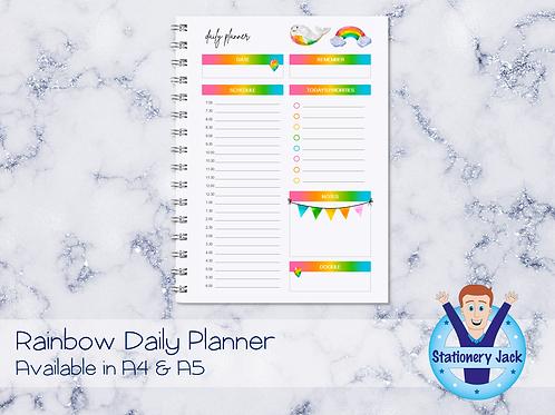 Rainbow Daily Planner