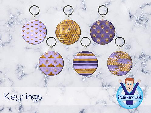 Lavender Honey Keyring