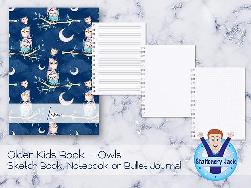 Older Kids Book - Owls