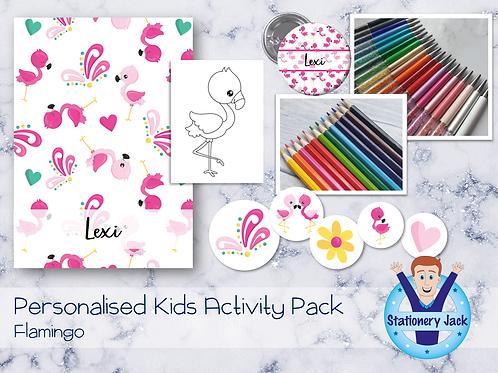 Flamingo Kids Activity Pack