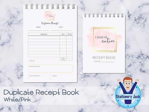 Duplicate Receipt Book